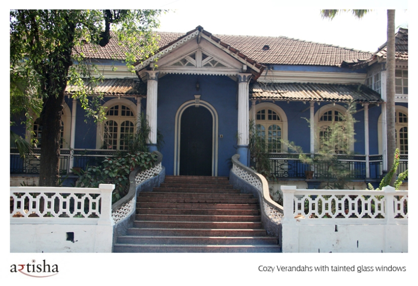 The Goan Houses Boast Of Impeccable Style And Luxury While Verandahs Are Adorned With Classic Neo Gothic Windows Pristine Old English Furniture